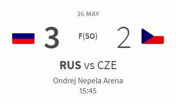 Russia vs Czechia 3-2 Bronze Medal Game 26.05.2019