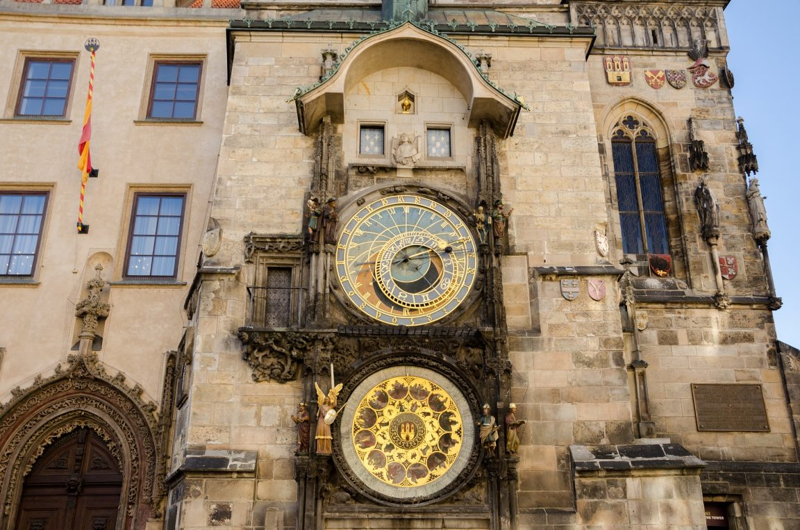 Astronomical Clock Vertical Full Size
