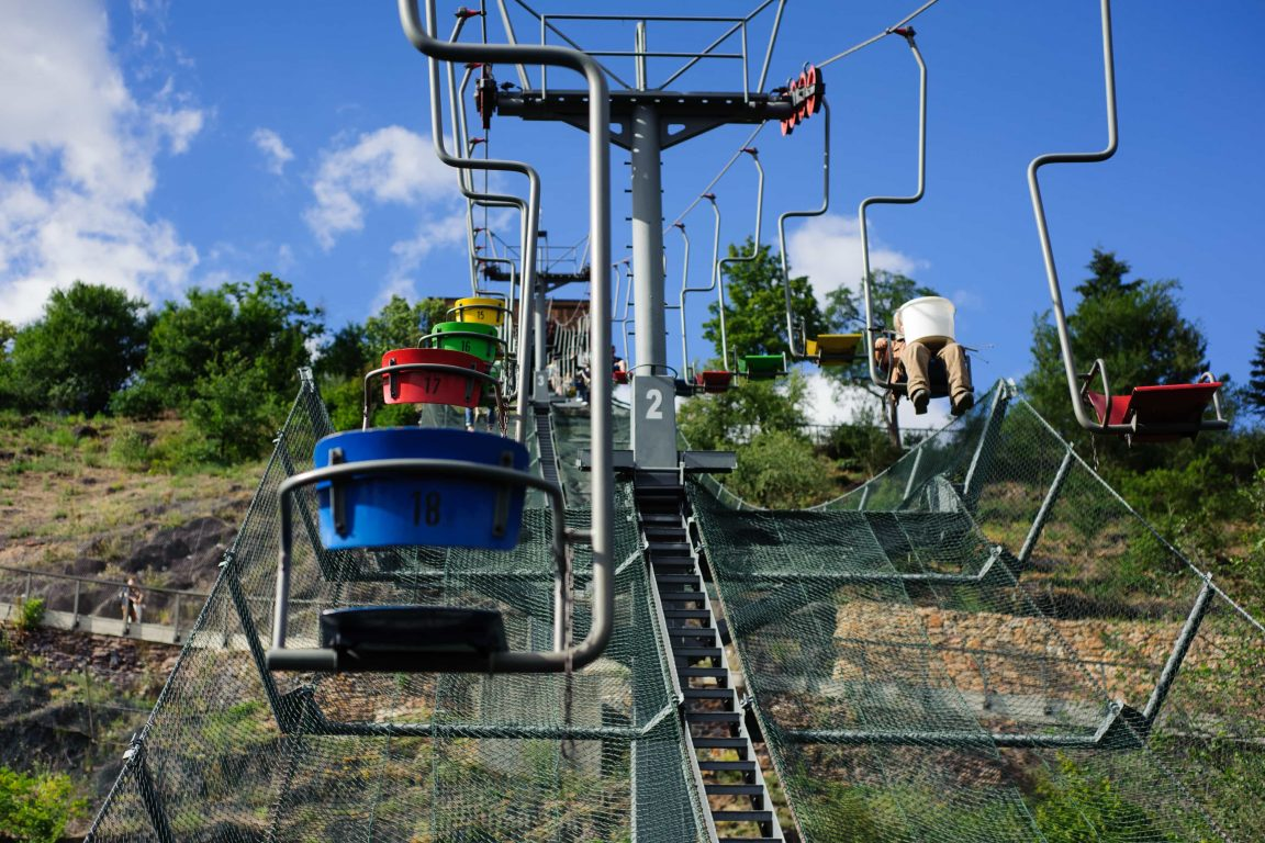 Chairlift at Prague Zoo