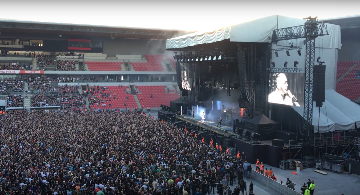 Rammstein 2018 Prague Eden Arena