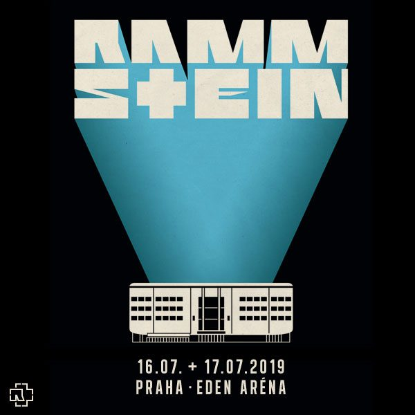 Rammstein Prague 2019 Event Flyer